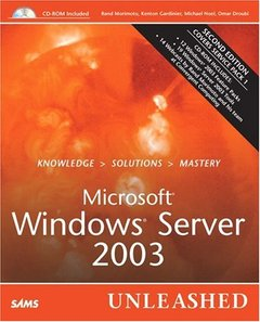 Microsoft Windows Server 2003 Unleashed, 2/e-cover