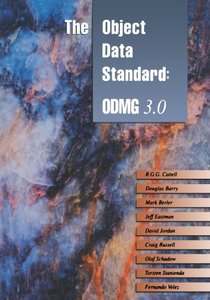 The Object Data Standard: ODMG 3.0 (Paperback)-cover