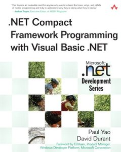 .NET Compact Framework Programming with Visual Basic .NET (Paperback)-cover