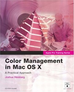 Apple Pro Training Series: Color Management in Mac OS X-cover