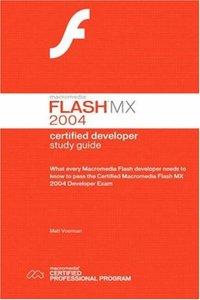 Macromedia Flash MX 2004 Certified Developer Study Guide-cover