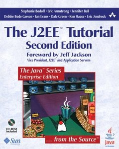 The J2EE Tutorial, 2/e (Paperback)-cover