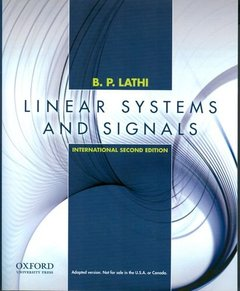 Linear Systems and Signals, 2/e (IE-Paperback)