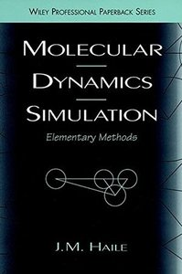 Molecular Dynamics Simulation : Elementary Methods-cover