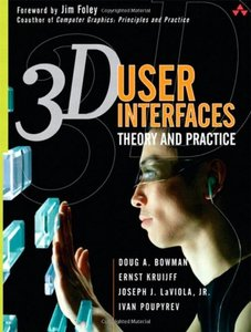 3D User Interfaces : Theory and Practice (Hardcover)-cover