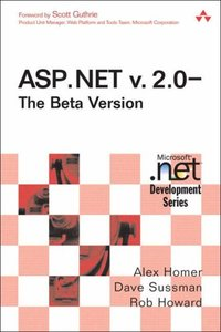 ASP.NET v. 2.0-The Beta Version (Paperback)-cover