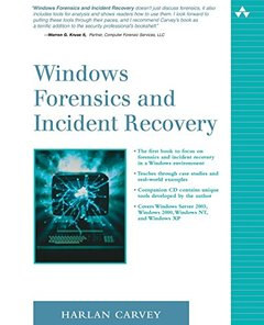 Windows Forensics And Incident Recovery-cover