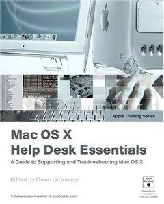 Apple Training Series : Mac OS X Help Desk Essentials (Paperback)-cover