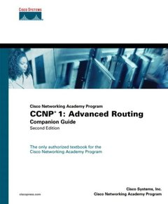 Cisco Networking Academy Program CCNP 1: Advanced Routing Companion Guide, 2/e-cover