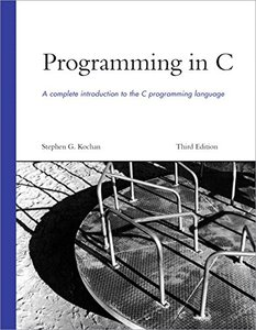 Programming in C, 3/e (Paperback)-cover