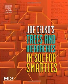 Joe Celko's Trees and Hierarchies in SQL for Smarties-cover