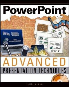 PowerPoint Advanced Presentation Techniques-cover