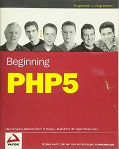 Beginning PHP5-cover