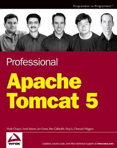 Professional Apache Tomcat 5-cover