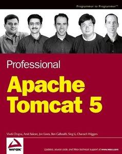 Professional Apache Tomcat 5-cover