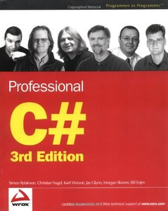 Professional C#, 3/e-cover