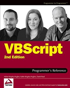 VBScript Programmer's Reference, 2/e-cover