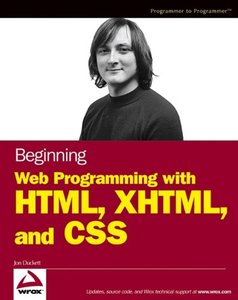 Beginning Web Programming with HTML, XHTML and CSS-cover