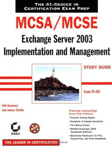 MCSA/MCSE: Exchange Server 2003 Implementation and Management Study Guide (70-284) (Paperback)-cover