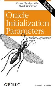 Oracle Initialization Parameters Pocket Reference-cover