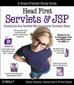 Head First Servlets & JSP-cover