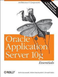 Oracle Application Server 10g Essentials-cover
