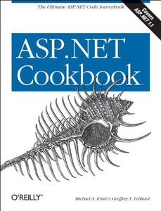 ASP.NET Cookbook (Paperback)-cover