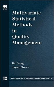 Multivariate Statistical Methods in Quality Management-cover