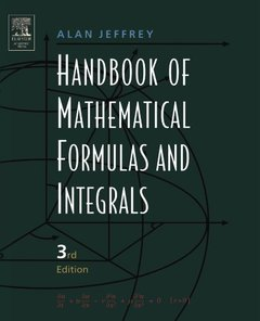 Handbook of Mathematical Formulas and Integrals-cover