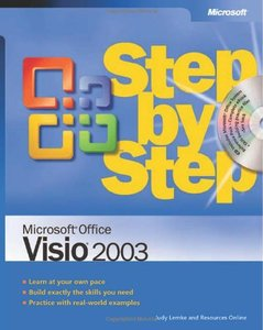 Microsoft Office Visio 2003 Step by Step-cover