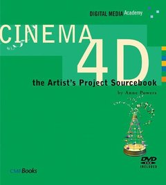 CINEMA 4D : The Artist's Project Sourcebook (Paperback)-cover