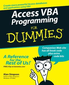 Access VBA Programming For Dummies-cover