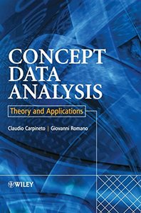 Concept Data Analysis : Theory and Applications-cover