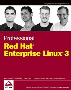 Professional Red Hat Enterprise Linux 3-cover