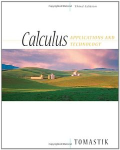 Calculus: Applications and Technology, 3/e-cover