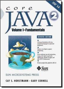 Core Java 2, Volume I--Fundamentals, 7/e-cover
