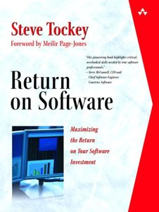 Return On Software: Maximizing The Return On Your Software Investment(Hardcover)-cover