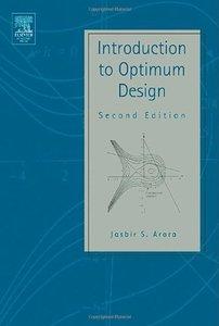 Introduction to Optimum Design, 2/e-cover
