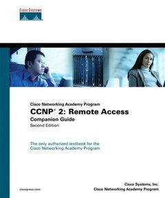 CCNP 2 : Remote Access Companion Guide, 2/e (Hardcover)-cover