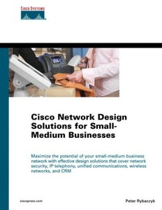 Cisco Network Design Solutions for Small-Medium Businesses (Hardcover)-cover