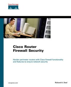 Cisco Router Firewall Security (Paperback)-cover