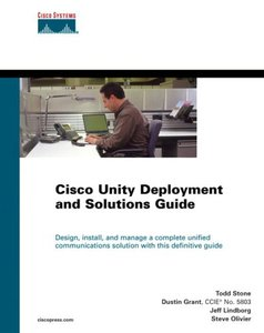 Cisco Unity Deployment and Solutions Guide (Hardcover)-cover