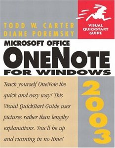 Microsoft OneNote 2003 for Windows (Paperback)-cover
