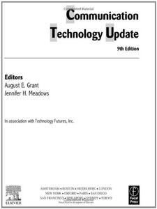 Communication Technology Update, 9/e (Paperback)-cover