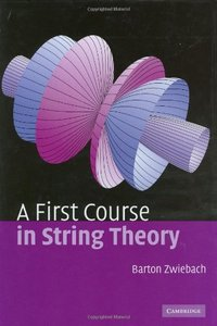 A First Course in String Theory (Hardcover)-cover