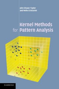 Kernel Methods for Pattern Analysis (Hardcover)-cover