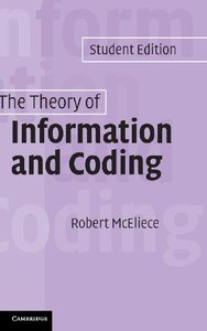 The Theory of Information and Coding: Student Edition (Hardcover)-cover
