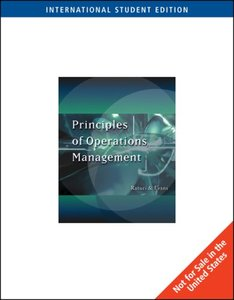 Principles of Operations Management(平裝)