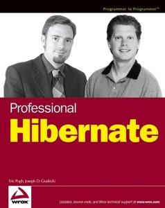 Professional Hibernate (Paperback)-cover