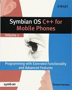 Symbian OS C++ for Mobile Phones Volume 2 (Paperback)-cover
